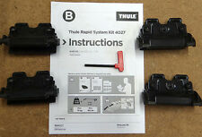 New Thule Roof Bar Fitting Kit Audi Q3 SUV  2012 on,  no 4027