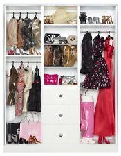 The Barbie Look Collection Wardrobe Storage Cabinet Black Label