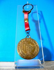 1960 Olympic Games Rome ORIGINAL OLIMPIADI 1960 ROMA Leather Keychain VERY RARE!