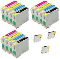 15 INKS FOR EPSON C64 C66 C84 C86 CX3600 CX3650  CX4600 CX6400 CX6600