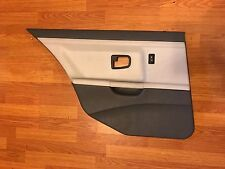 3-Series BMW E36 DOOR PANEL DRIVER SIDE  REAR TWO TONE GREY GRAY LEATHER OEM
