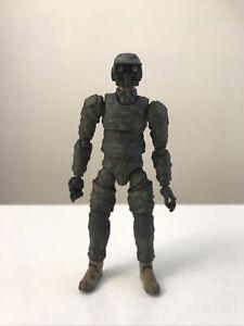 "1/18 3.75"" Acid Rain World Custom Cyborg Infantry Soldier C"