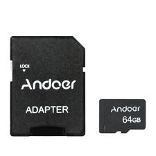 Andoer Class10 64GB 80MB/S MICRO SDXC SD MEMORY CARD TF Flash card+Adapter Q8R4
