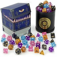 Wiz Dice Cup of Wonder: 35 Polyhedral Dice in 5 Complete Sets & Dice Cup