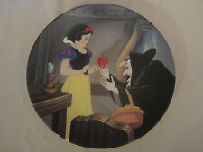 The Poison Apple collector plate Snow White And Seven Dwarfs #5 Disney