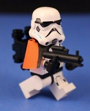 LEGO® STAR WARS™ REBELS STORMTROOPER™ Orange Pauldron Officer + Custom Blaster!