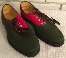Vtge Womens Tennis Shoes Blocks Of Color Laces Canvas 1980s-90s sz 6-6.5?