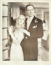 "VERONICA LAKE & FREDRIC MARCH in ""I Married a Witch"" Original Vintage Photo 1942"