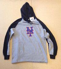 New York Mets Lee Sport MLB Men's Pullover Hooded Sweatshirt - Size: Medium