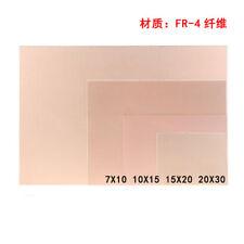 Single Side Copper Clad PCB FR4 Laminate Circuit Board 7x10 10x15 15x20 20x30cm