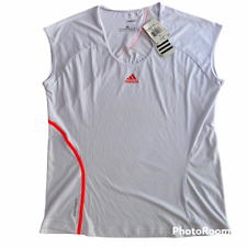 Adidas Adizero Tennis Athletic Tank Top Shirt White Size Xl