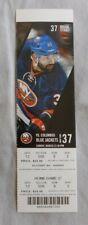 2014 New York Islanders Vs Columbus Blue Jackets 3/23/14 NHL unused Ticket stub