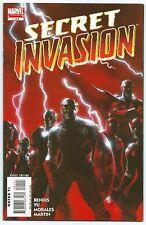 SECRET INVASION #1-6 MARVEL 2008 DELL'OTTO Painted Covers SKRULLS BENDIS Story