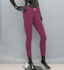 FREDDY WR.UP Trousers Purple Shaping Skinny Crop Pants UK10