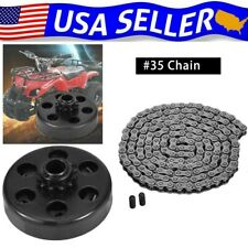 """Engine 212Cc Centrifugal Clutch 3/4"""" Bore 12 Tooth+ 35 Chain Kit For Go Kart 99"""