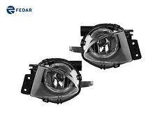 Clear Lens Fog Lights Driving Lamps Kit For 2006-2008 BMW 323i 328i 328xi 335i