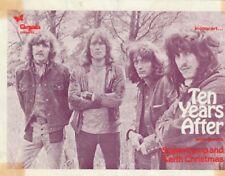 TEN YEARS AFTER & SUPERTRAMP 1971 FLYER