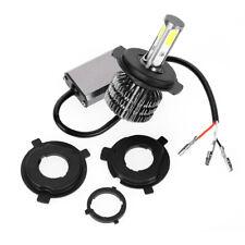 Universal H4 BA20D H6 HS1 Motorcycle LED Headlights Bulbs Kit Hi/Low Beam 6500K