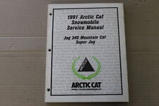 1991 ARCTIC CAT SNOWMOBILE SERVICE MANUAL JAG 340 MOUNTAIN CAT SUPER JAG