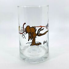 Arby's Anteater Glass Bc Ice Age Collector Series Zot Johnny Hart Comic 1981