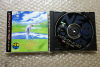 """Top Players Golf """"Good Condition"""" SNK Neo Geo CD Japan"""