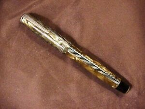 PARKER ROYAL CHALLENGER , GFT, BF, DOUBLE JEWELS,  BROWN  PEARL, EXC.COND.1938	0