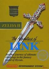 Zelda II: The Adventure Of Link For Nintendo NES Vintage 1E