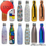 BonBon 17 Oz (500 ml) Vacuum Insulated Double-Walled Water Bottle 12 NEW STYLES