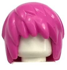 LEGO NEW DARK PINK LAYERED GIRL PUNK ROCKER MINIFIGURE HAIR PARTS PIECES