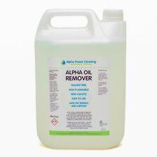 ALPHA OIL REMOVER - Ideal for cleaning oil spillages - 1ltr or 5ltr