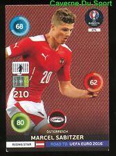 271 MARCEL SABITZER AUSTRIA CARTE CARD ADRENALYN ROAD TO UEFA EURO 2016 PANINI O