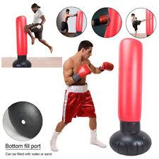Punching Bag Standing Inflatable Speedbag Boxing Column Tumbler Sandbag