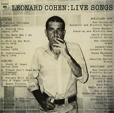 Leonard Cohen Live Songs 2011 Remastered Deluxe 180 GM 1 LP Folk Vinyl