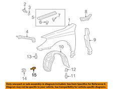 TOYOTA OEM-Fender Liner Retainer Clip 4774958010