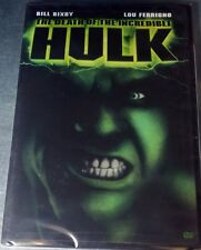 The Death of the Incredible Hulk (Dvd, 2003) Ntsc / Region 1/factory sealed