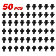 50pcs Nylon Inner Fender Push-Type Clip Fastener Retainer for GM for Mazda