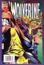 WOLVERINE 99 March 1996 8.5-9.0 VF+/NM- ADAM KUBERT - NEWSSTAND EDITION COVER!