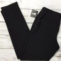 Nanette Lepore Womens SZ 2 Trousers Black White Pin-Striped Dress Pants X-Small