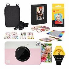 Kodak PRINTOMATIC Instant Print Camera (Pink) Photography Scrapbook Kit