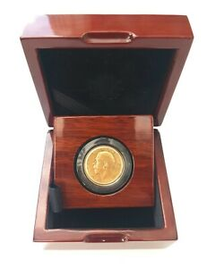 1911-1932 King George V Gold Sovereigns + Capsulated within Luxury Case
