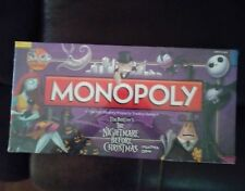 Monopoly's Collectors Edition The Nightmare Before Christmas Factory Sealed Game