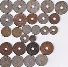 26 BRITISH EAST & WEST AFRICA COINS INC SILVER 1909-1952, BRITISH RULE   Z39