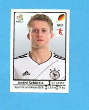 PANINI-EURO 2012-Figurina n.246- SCHURRLE - GERMANIA -NEW-WHITE BOARD