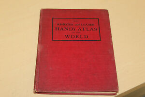 1909 Hammond's World Atlas from the Iowa Register and Leader Newspaper