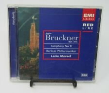 LORIN MAAZEL - ANTON BRUCKNER 1824-1896: SYMPHONY NO.8 MUSIC CD, EMI CLASSICS