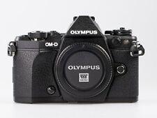 Olympus OM-D E-M5 Mark II 16.0MP Digitalkamera - schwarz **Demomodell**Händler**