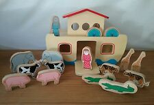 NOAH'S ARK Wooden 18 Piece Set Ryan's Room