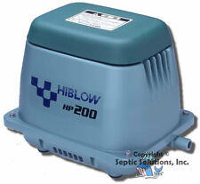 HIBLOW HP-200 SEPTIC AIR PUMP AERATOR NEW FREE SHIPPING