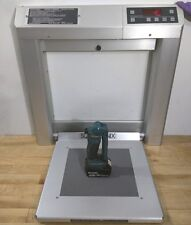 WELCH ALLYN SCALE TRONIX 5202 WALL MOUNT STOW AWAY BARIATRIC STAND-ON - LBS & KG