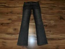womans misses GUESS size 26 = 2 jeans pants bootcut boot cut  black -ish / gray